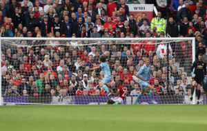 Joe Allen secures late point for Stoke City against Manchester United at Old Trafford