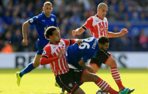 Sluggish champions Leicester City are held at home by Southampton