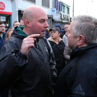 Fr Gary Donegan praised after angry scenes at Orange Order parade in Ardoyne