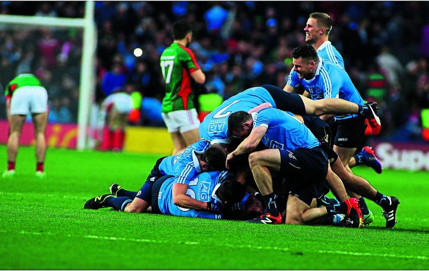 Dublin pile on Mayo misery