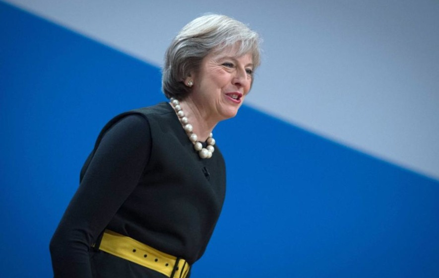 Theresa May tells Tory Party conference she will trigger article 50 by March 2017