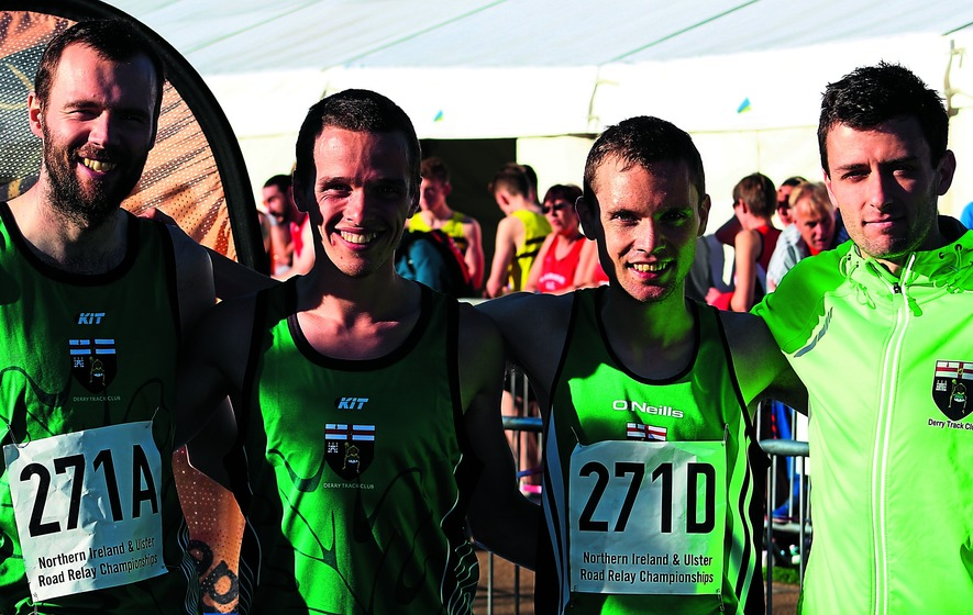 Derry's runners have a Relay good time of it