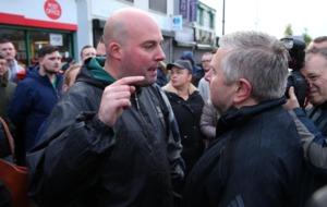 Fr Gary Donegan praised after angry scenes at Orange Order parade in Ardoyne