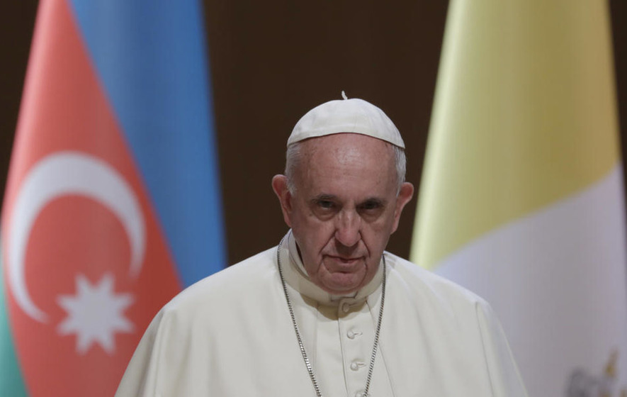 Pope Francis encourages religious tolerance in Azerbaijan