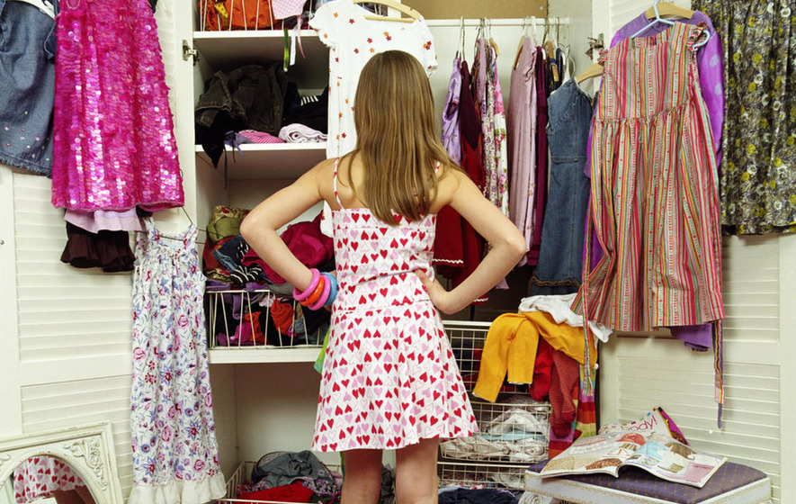 If your wardrobe has taken on a life of its own, it may be time for a closet clear out