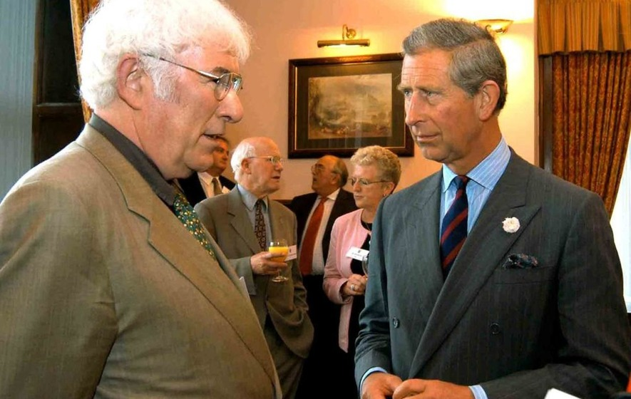 Prince Charles reads Seamus Heaney poem for National Poetry Day