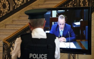Nama: police investigation into 'coaching' of Jamie Bryson continues