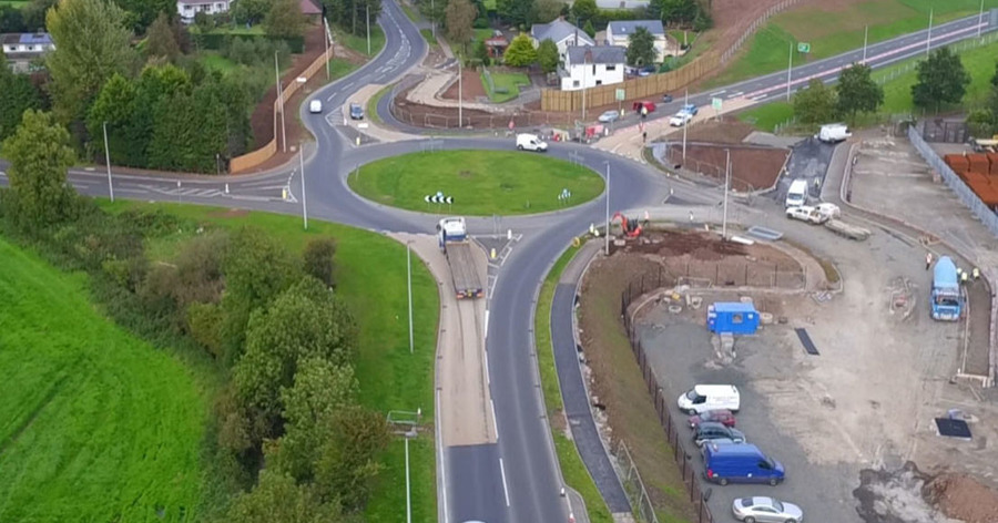 New bypass will take 7 000 cars out of magherafelt daily for Cuisine 7000 euros
