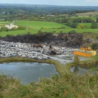 More than 300 cars destroyed in 'suspicious' fire