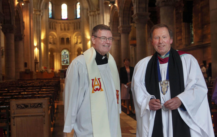 Belfast Dean says Mervyn Gibson welcome despite opposition to Catholic canon