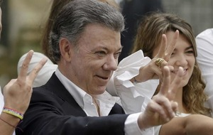 Colombian president deeply honoured after winning Nobel Peace Prize