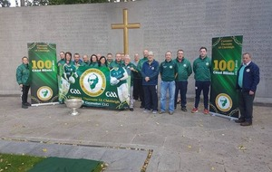 Tyrone GAA club's 100-mile pilgrimage to help raise funds for new home
