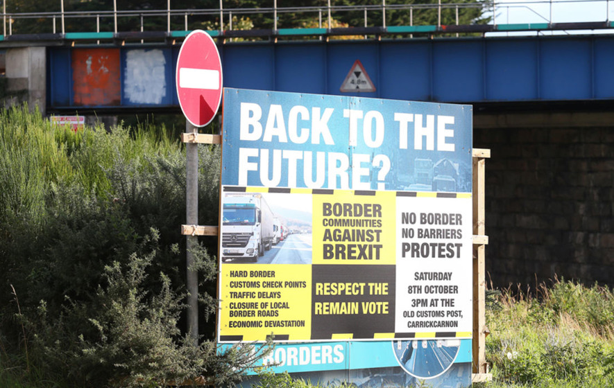 John O'Dowd urges public support for series of anti-Brexit border protests