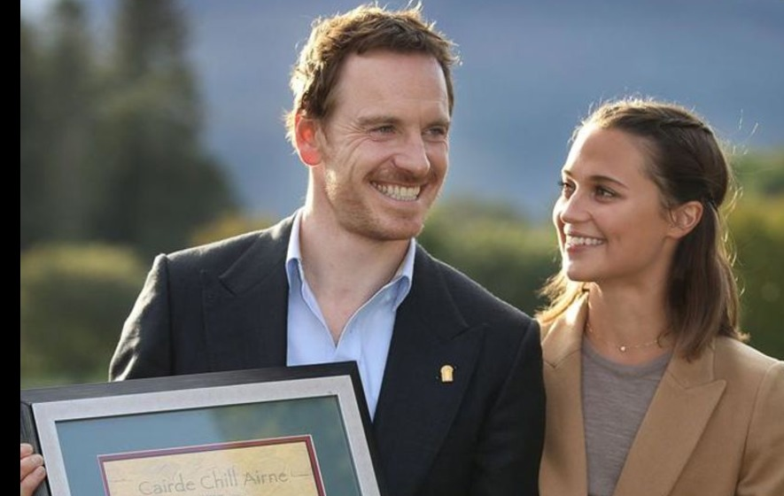 Hometown honour for Hollywood star Michael Fassbender