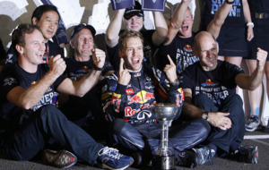 On This Day - Oct 9 2011 - Sebastian Vettel clinches the Formula One drivers' championship