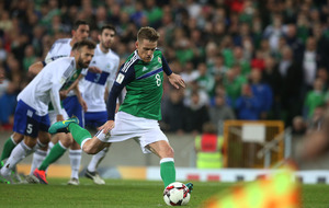 Northern Ireland captain Steven Davis ruled out of South Korea friendly
