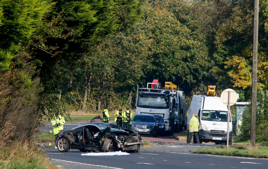Woman in 'critical condition' in hospital after single vehicle crash on A1 in Co Down