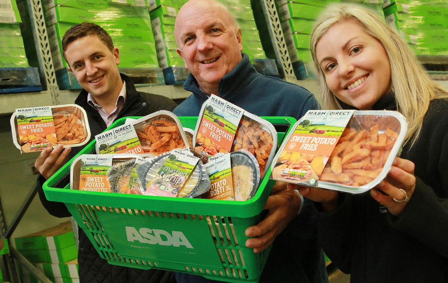 Mash Direct secure new Asda supply deal