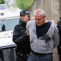 Councillor Padraig McShane appears in court on charges linked to Twelfth parade