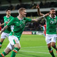 Jon Walters heaps praise on James McClean following brace against Moldova