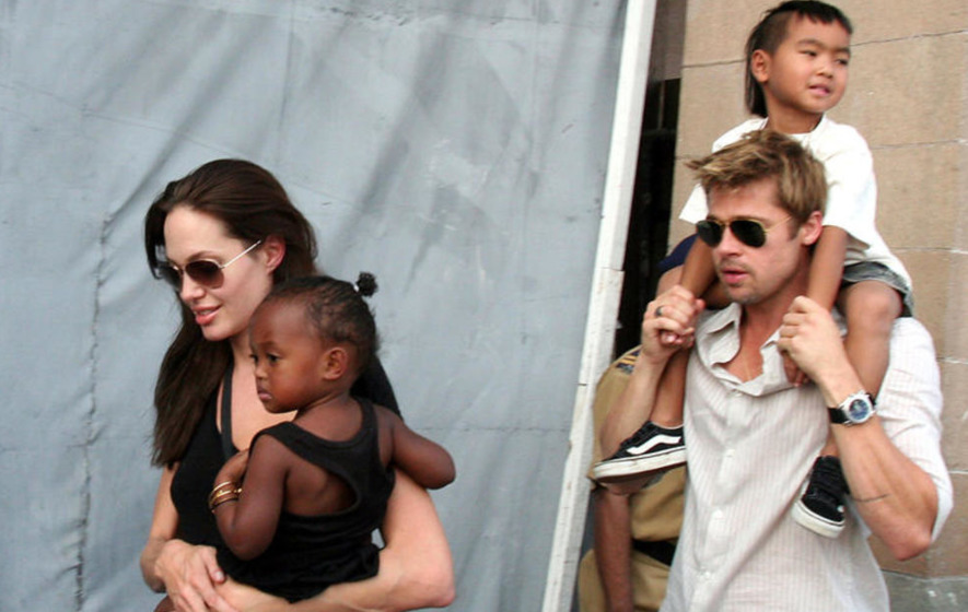 Parenting teens a tough job, as Angelina and Brad show
