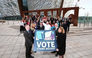 Titanic Belfast nominated for World's Leading Tourist Attraction