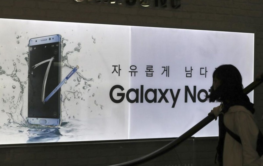 Fire dangers leads to Samsung scrapping Galaxy Note7 smartphone