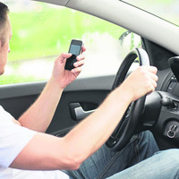 A third of all drivers caught on mobile phone are in Fermanagh and Tyrone