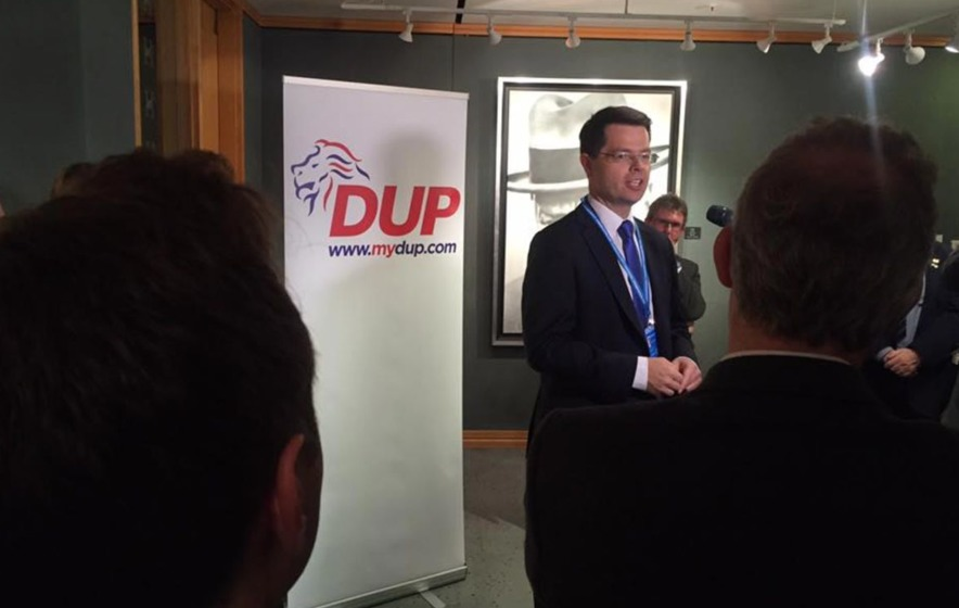 James Brokenshire cancels DUP breakfast benefit amid concerns from nationalists