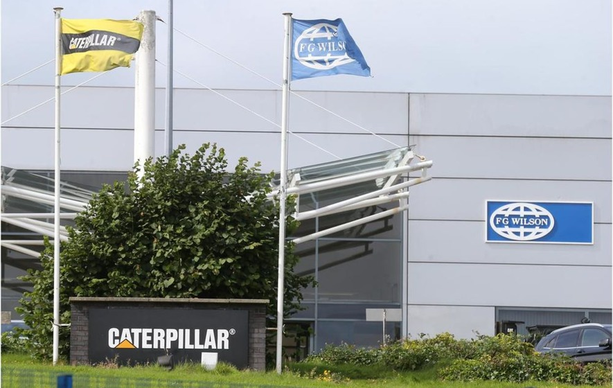 Losses at Caterpillar in Northern Ireland hit £1.8m last year ahead of planned lay offs