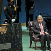 Ex-Portuguese prime minister Antonio Guterres elected UN secretary-general