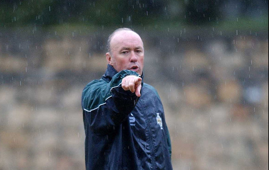 On This Day - Oct 15 2003: Sammy McIlroy resigns as Northern Ireland manager