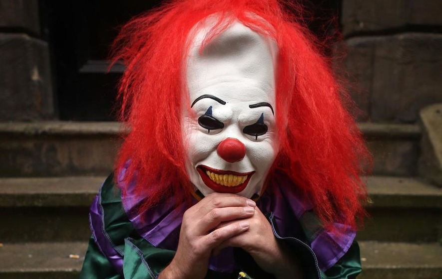 Video: PSNI issue 'killer clown' warning to the public