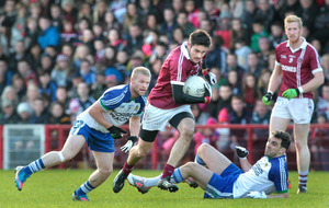 Slaughtneil chase historic three-in-a-row
