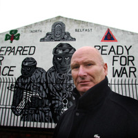 Notorious UVF mural in North Belfast ready for removal - but not just yet