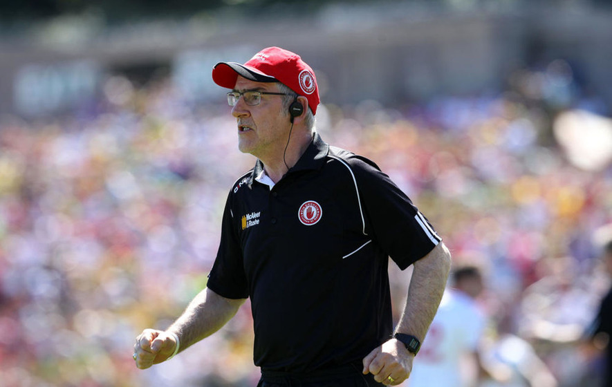 Tyrone GAA's Cathal McCarron: Mickey Harte has always stuck by me