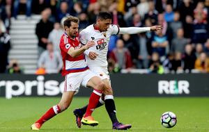 Jose Holebas steals all three points for Watford against Middlesbrough