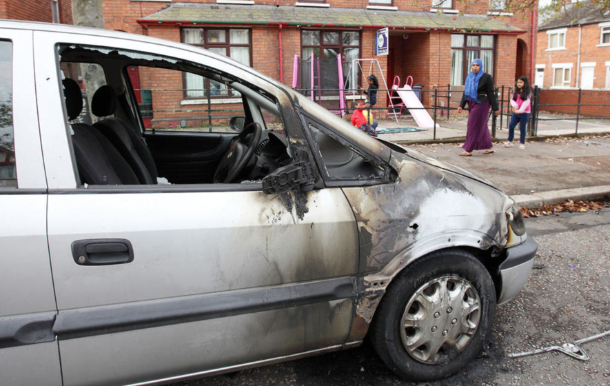Six times more racist hate crimes recorded in Northern Ireland than Republic