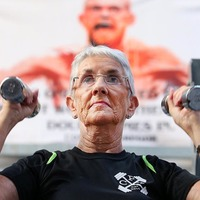 In Pictures: Octogenarian Super Gran Alice McAvoy still pumping iron