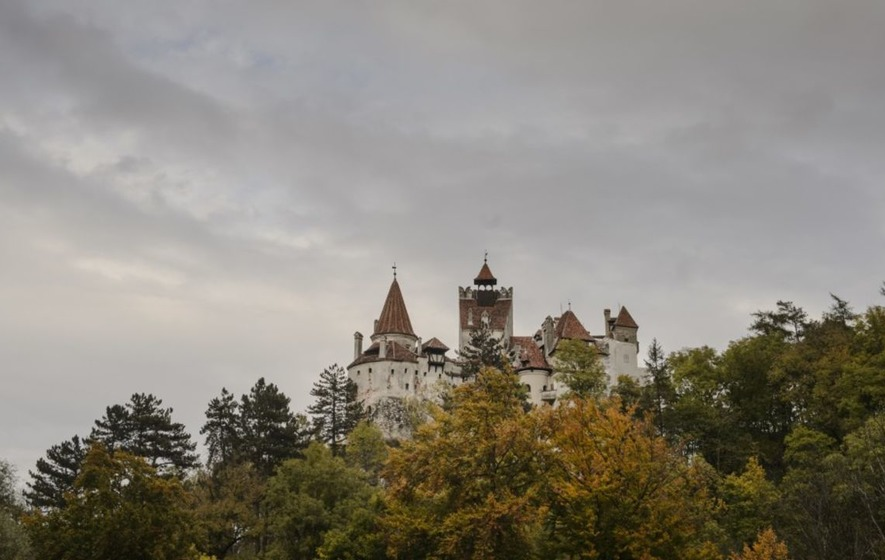 Halloween night in Dracula's castle in Transylvania up for grabs
