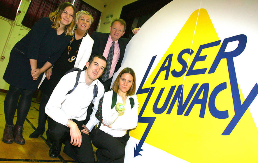 Laser Lunacy gets thumbs up from secondary schools