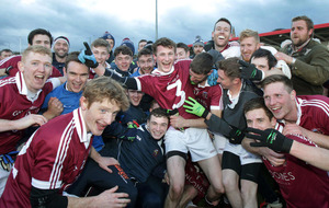 Slaughtneil stars already focused on hurling final after clinching football title insists Brendan Rogers