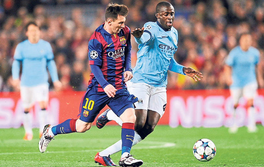 Live updates: Barcelona v Manchester City Champions League group stage