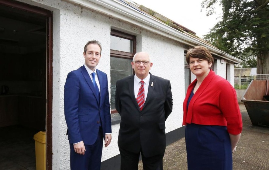 DUP minister facing questions over £500,000 'Orange halls' funding