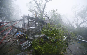 Typhoon Haima proves fatal in northern Philippines as at least 7 die