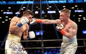 Carl Frampton and Leo Santa Cruz rematch set for Las Vegas on January 28