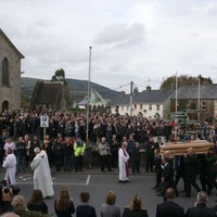 Anthony Foley left many a mark in his short life priest tells funeral
