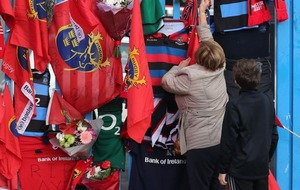 Anthony Foley's jersey to be retired for Munster's clash with Glasgow