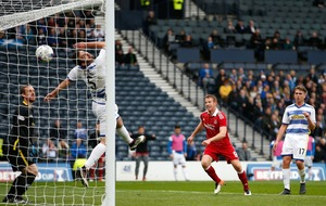 Adam Rooney breaks Morton resistance to put Aberdeen into Betfred Cup final