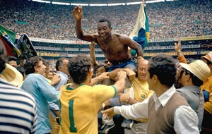 VIDEO WATCH: On This Day - Oct 23 1940: Edson Arantes do Nascimento - the world's greatest soccer player of all time, (Pele, to you and me) is born